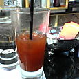 Half-Drunk Bloody Mary