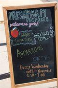 Fresh Farm Market Sign