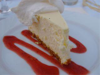 Caromont Farm Chevre Cheesecake