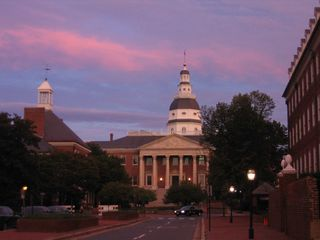 Annapolis State House (Courtesy of Wikipedia)